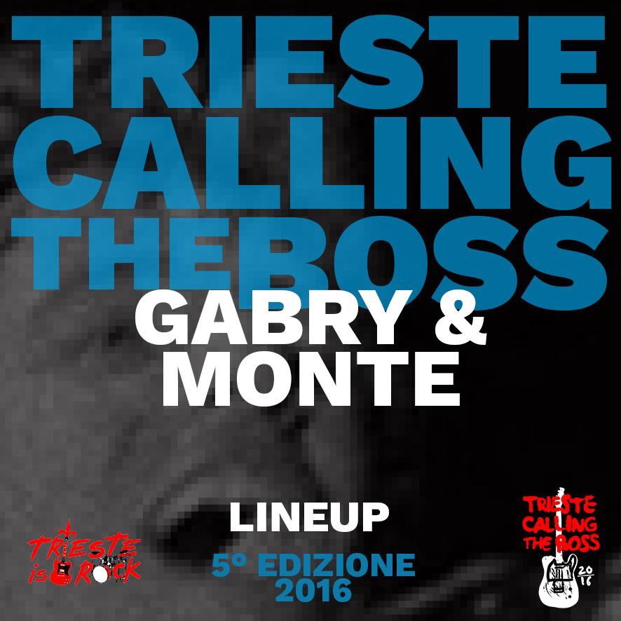 Interviste brevi ai protagonisti:Gabry & Monte