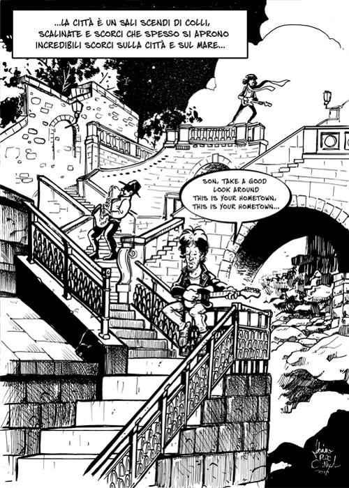 Bruce a Trieste: tra Scala dei Giganti e i vicoli di città vecchia