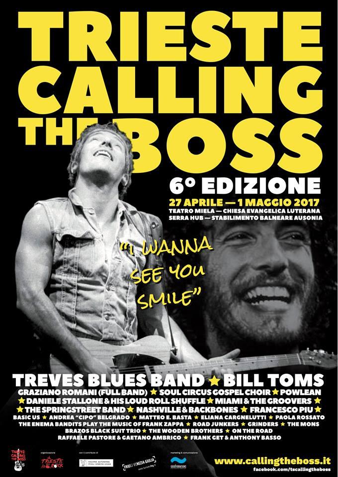 [ENG] Trieste Calling the Boss 2017