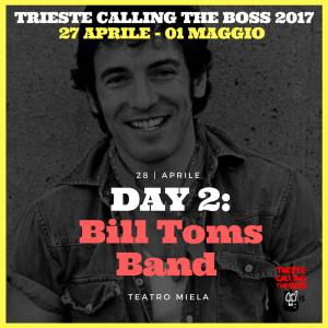 I protagonisti 2017: Bill Toms Band