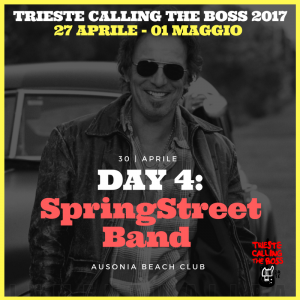 I protagonisti 2017: The SpringStreet Band
