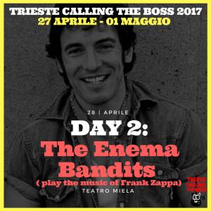 I protagonisti 2017: The Enema Bandits play the music of FRANK ZAPPA
