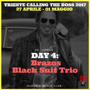 I protagonisti 2017: Brazos Black Suit Trio