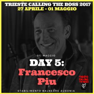 I protagonisti 2017: Francesco Piu
